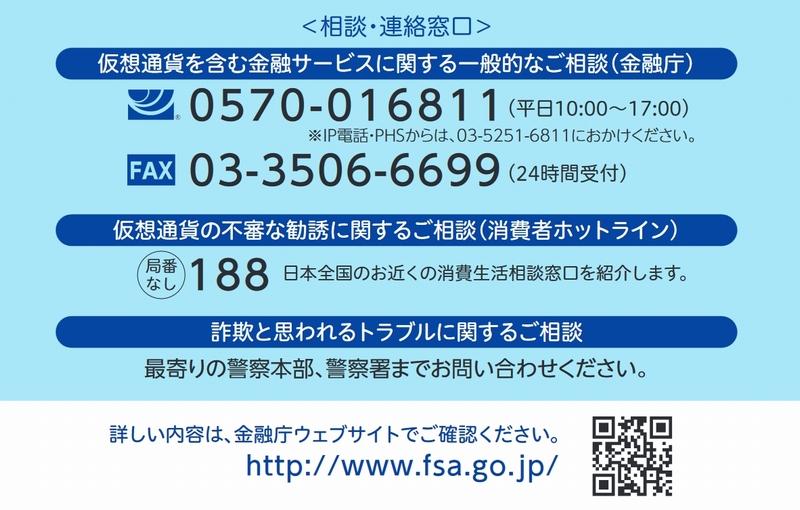 金融庁 相談・連絡窓口